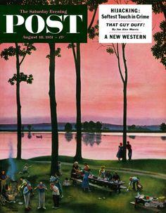 John Falter, August 18, 1951