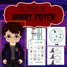 Sin duda los profes y padres sabemos que hay que buscar los intereses de los peques para que el aprendizaje sea divertido, con este fantástico material de nuestra profe @pedagoque lo conseguiréis seguro. Hay dos formas de jugar: con el tablero o con la ruleta, podemos elegir la forma que más nos guste. Harry Potter Classes, Harry Potter School, Harry Potter Cartoon, Harry Potter Classroom, Harry Potter Theme, Harry Pptter, Escape Room, Halloween Movies, Alter