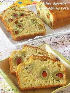 Chec aperitiv cu masline verzi ~ Culorile din farfurie