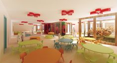 COMPETITION _ KINDERGARTEN / KOMA MODULAR SYSTEM/ by Barbora Mikitová, via Behance