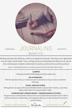 BENEFITS OF JOURNALING #journaling #journal #copingtool
