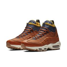 "e2010f3d6e124 Nike s Winter-Ready Air Max 95 Sneakerboot Drops in a ""Dark Russet"" Colorway"