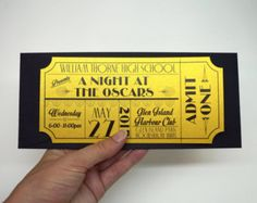 Movie Ticket Wedding Invitation Sample By Brighteyedbirdie On Etsy