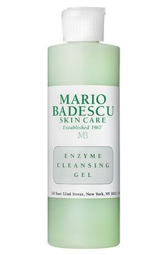 It took me a long time to find a cleanser that was affordable and good.  This is it! Mario Badescu Enzyme Cleansing Gel available at #Nordstrom