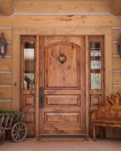 i love this door. Montana Timber Products