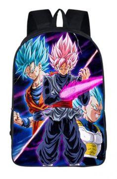 Kids Cool Dragon Ball Bags Ultra Instinct Goku Backpack Satchel School Book Bag