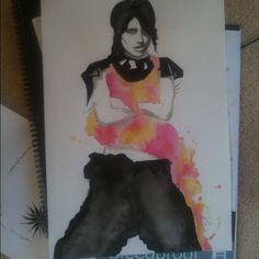 fashion illustration work - @brookewhitlock- #webstagram