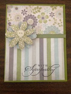 ... Sympathy on Pinterest | Handmade sympathy cards, Thinking of you and