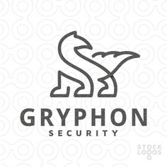 Exclusive Customizable Logo For Sale: Gryphon Security | StockLogos.com