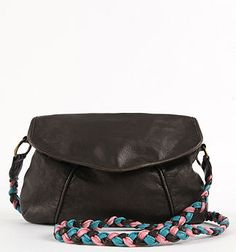 One of my purses handle broke...this would have been such an easy fix! DIY on the braided shoulder strap!!! Wishing I would have found this idea earlier!!