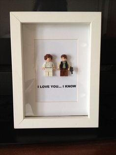 Star Wars LEGO Art DIY