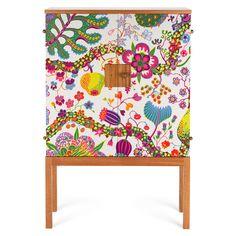 Cabinet 522 Textile Mahogany