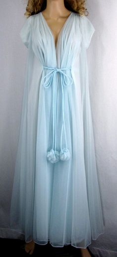 RESERVED for DEANNA Vintage Peignoir Bridal by PlayItAgainGlam