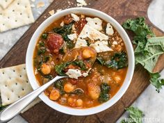 This Smoky Potato Chickpea Stew is a hearty and filling plant-based dish that will keep you full and warm this winter! Step by step photos