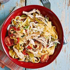 """Easy Summer 30-Minute Meal: """"Thai It"""" Chicken Noodles"""