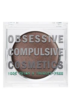NEW to Nordstrom! Obsessive Compulsive Cosmetics Crème Colour Concentrate | Nordstrom $23.00 in Discipline.  Great 3-in-1 product, get a shade that you want to use for at least eyes and cheeks. a multi-use intensely pigmented crème makeup with smooth, blendable, buildable coverage that's suitable for use on the eyes, lips and cheeks. Loaded with emollients and humectants, the intense concentrate wears like a dream.