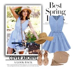 """Casual blue dress"" by hedija-okanovic ❤ liked on Polyvore featuring Été Swim, Yves Saint Laurent and H&M"