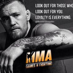 Love. Loyalty. MMA. Conor McGregor
