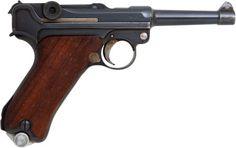 Semiautomatic Pistol, German Simson & Co. Model P08 Luger Semi-Automatic Pistol