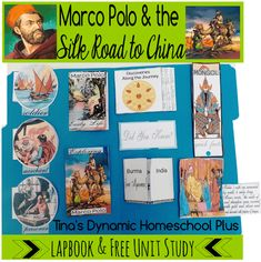 Free Marco Polo Lapbook and Unit Study. Free homeschool Marco Polo Unit Study and lapbook. Ideas for easy hands-on activities.