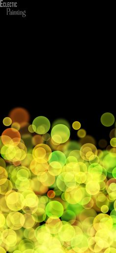 Download Free HD iPhone Wallpaper With Abstract Yellow Circles