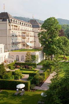 Brenner's Park Hotel & Spa in Germany is a #Fodors100 winner in the Enduring Classics category. We love the elegant rooms.