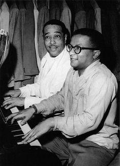 Duke Ellington & Billy Strayhorn. Legendary collaborators.