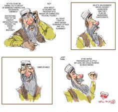 Cartoon by Elena Steier - 8 gennaio Usa §