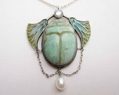 art-nouveau-scarab-pendant