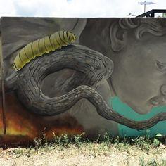 Surrealism, Contemporary Art, Street Art, Mexico, Sculpture, Detail, Nature, Artwork, Painting