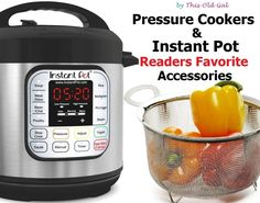 Readers Favorite Instant Pot Accessories via @thisoldgalcooks