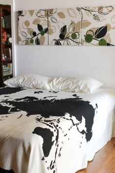 bed cover: Urban Outfitters