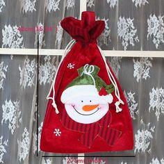 Christmas Cloth Gift Bag Decorations Gift Bags Christmas Gifts