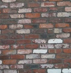 Recycled bricks with dark grey mortar Brick And Mortar, Brick Wall, Recycled Brick, Bricks, Dark Grey, Kitchen Remodel, Recycling, New Homes, Exterior