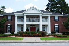 AOII at Georgia Southern. Miss this house so much!