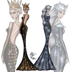 simple fashion illustration faces the huntsman and snow white Fashion Illustration Face, Fashion Illustrations, Queen Ravenna, Twisted Disney, Princesa Disney, Fanart, Scrapbook Designs, Fashion Art, Fashion Design