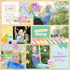 Layout using {For The Record: Summer} Digital Scrapbook Kit by Digital Scrapbook Ingredients and Becca Bonneville Designs available at Sweet Shoppe Designs http://www.sweetshoppedesigns.com//sweetshoppe/product.php?productid=34355&cat=823&page=1 #digitalscrapbookingredients