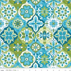 Lila Tueller - Splendor - Splendor Ceramic in Blue aqua teal turquoise green
