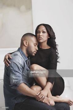 love illustrazioni Actress Meagan Good and her husband film executive and preacher DeVon Franklin are photographed for Ebony Magazine on December 2012 in Los Angeles, California. Black Love Couples, Cute Couples, Couple Photography, Photography Poses, Wedding Photography, Couple Posing, Couple Shoot, Wedding Photoshoot, Wedding Shoot