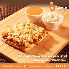 The best thing I have ever had - Every Tandoori Paneer Eater #Toasties #Mrtoasties