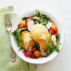 Toasted Ravioli Salad