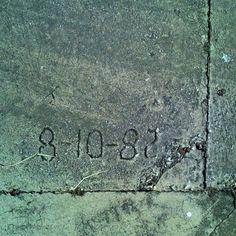 sidewalk Numbers (2)