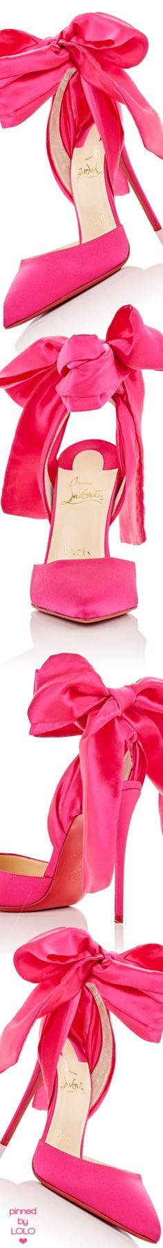 Christian Louboutin Douce du Desert Red Sole Pump, Pink