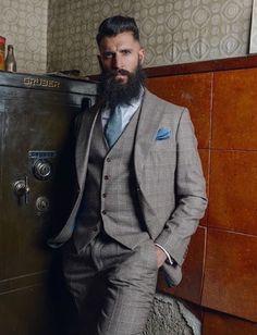 BEARDREVERED on TUMBLR | Dapper via bearditorium #beard #beardrevered