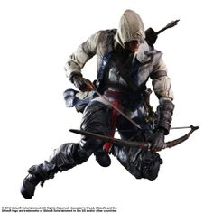 Play Arts Kai – Figura Connor De Assassin's Creed | Your #1 Source for Toys and Games