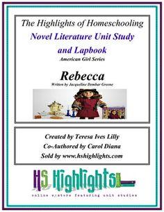 American Girls: Rebecca Novel Literature Unit Study and Lap Book