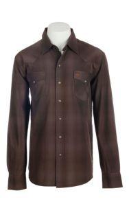 Garth Brooks Sevens by Cinch Men's Brown Long Sleeve Western Snap Shirt   Cavender's