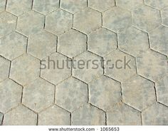 hexagon paving