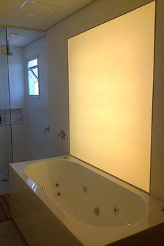 Tela Tensoflex translúcida – Banheiro Residencial – SP   Tensoflex Telas Tensionadas