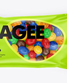 Food Pack, Creative Words, Candies, Mockup, Packaging Design, Flow, Layers, Objects, Packing